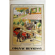 L'Illustration Original 'Cognac Hennessy' Advertisement 1939