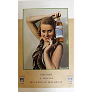 L'Ilustration French Magazine Original MARTELL Cognac DECO Advertisement 1939