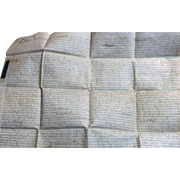 18th Century English Vellum Indenture Document - Dated 1746 - King George 11