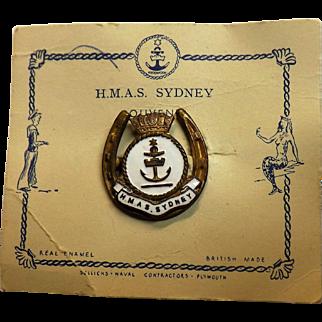 H.M.A.S. Sydney - Ships Souvenir Badge