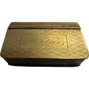 Georgian Snuff Box