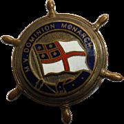 M.V. Dominion Monarch - Souvenir Ships Badge