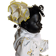Sweetie-Pie Picaninny Black Girl Doll