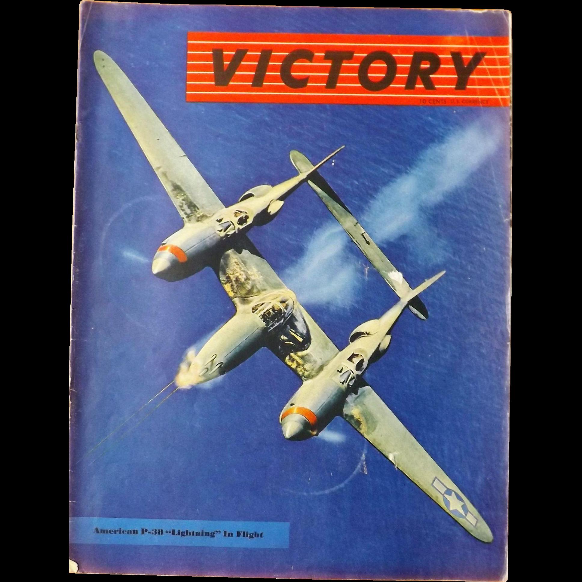 VICTORY Magazine Vol. 1 No. 4 - 1943 from molotov on Ruby Lane