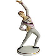 ALKA Dresden Porcelain Figurine - Male Ballet Dancer