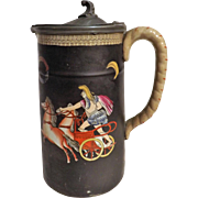 An Intriguing RARE Napoleonic Jug With Greek Revival Decoration - Circa 1805 -1820