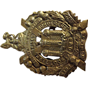 Kings Own Scottish Borderers - World War One Army Badge