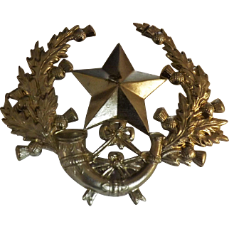 Cameronians Scottish Rifles World War One Badge