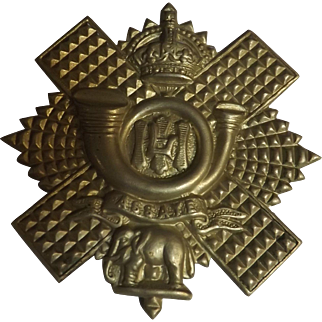 Black Watch World War One Badge