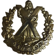 Cameron World War One Badge