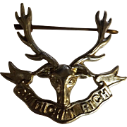 Seaforth Highlanders World War One Badge