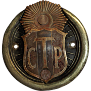 Touring Club Peru Car Badge