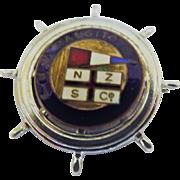 M.V. Rangitoto Ships Souvenir Badge