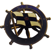 S.S. Orford Ships Souvenir Badge