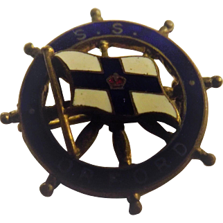 S.S. Orford Ships Souvenir Badge