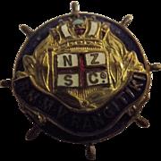 R.M.M.V. Rangitiki Ships Souvenir Badge