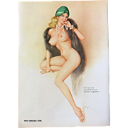 The VARGAS Girl Playboy Magazine July 1974