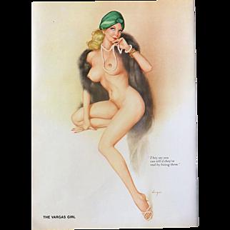 The VARGAS Girl Playboy Magazine July 1974