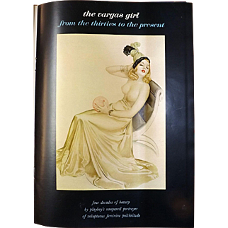 The Vargas Girl From The Thirties To The Present -PLAYBOY Magazine 1968