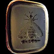 Victorian Intaglio Fob Seal - BEE