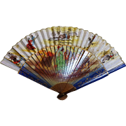 Spanish Ladies Fan Circa 1940-1950