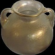 Art Nouveau Bohemian 'KRALIK' Glass Vase - Circa 1910