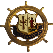 South Queensferry Edinburgh Wharfs Shipping Badge