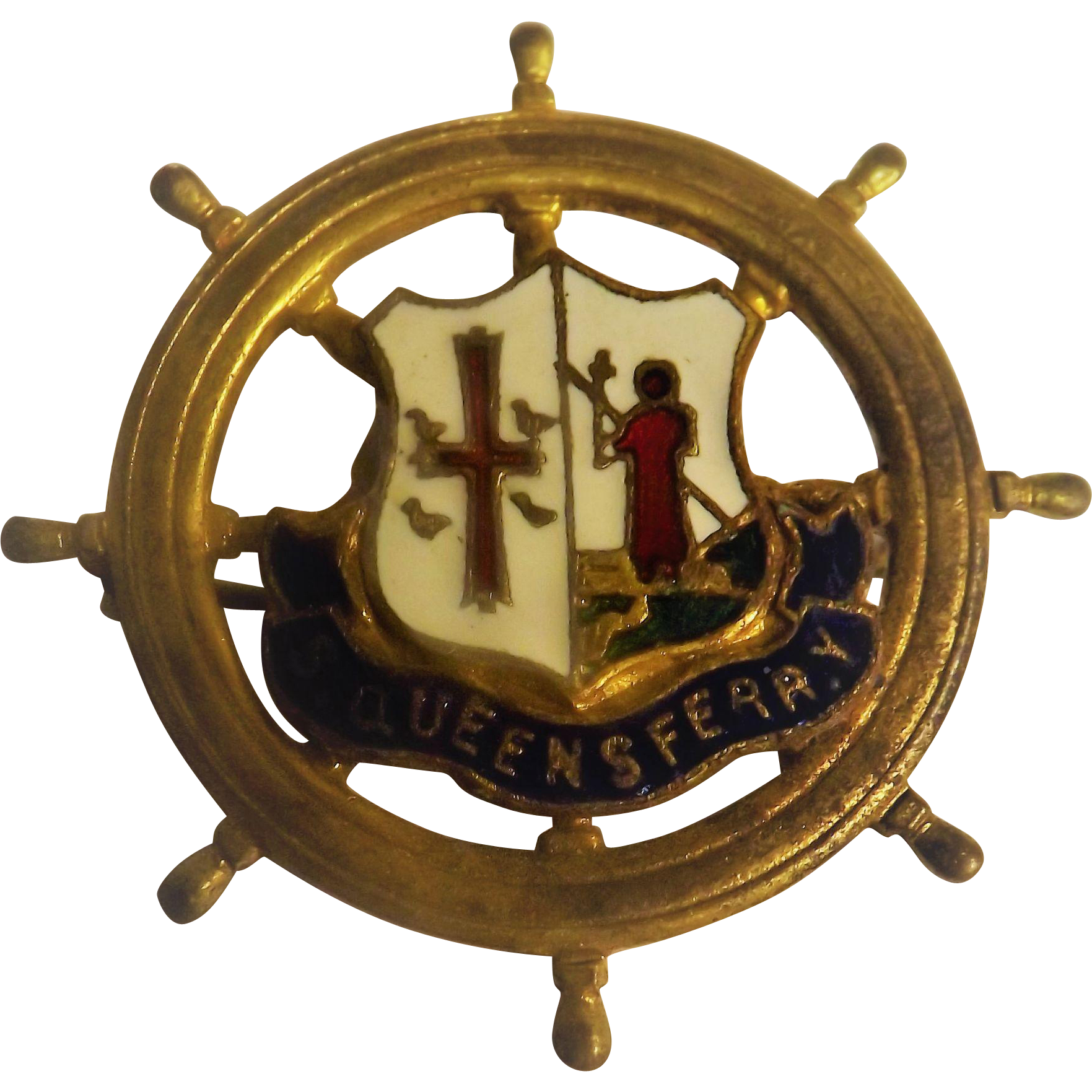 South queensferry edinburgh wharfs shipping badge from for Furniture queensferry