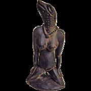 Nude LIZARD LADY Figurine - Kiriwina Island - Papua New Guinea