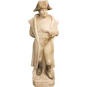 Superb Alabaster Figurine of Napoleon Bonaparte -  Italy Circa 1915