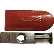 BOAC First Class Sterling Silver  'Cigar Cutter' - Circa 1960's