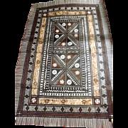 Fijian Masi Tapa Mat - Circa 1970