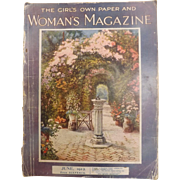 The Girls Own Paper & Woman's Magazine - Great Britain June 1912