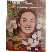 Screen Parade Magazine - January 1953 New Zealand