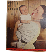 Screen Parade Magazine - January 1950 - New Zealand