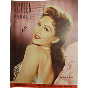 Screen Parade Magazine - October 1950 - New Zealand