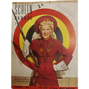 Screen Parade Magazine - November 1950 - New Zealand