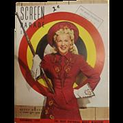 Screen Parade Magazine - November 1950 - New Zealand