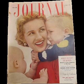 Ladies Home Journal Magazine - September 1953 USA