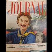 Ladies Home Journal Magazine - October  1953 USA