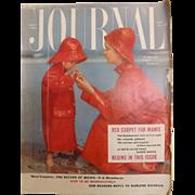 Ladies Home Journal Magazine - April 1954 USA