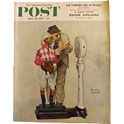 Saturday Evening Post Magazine - June 28 1958  - Norman Rockwell Cover