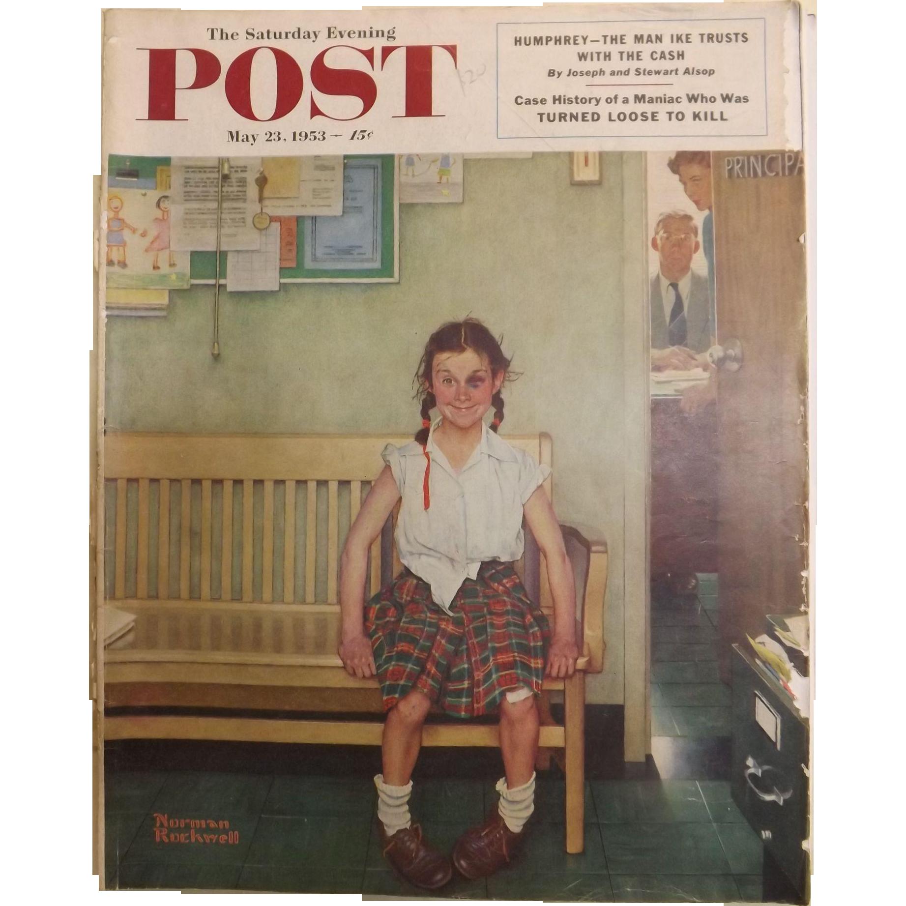 Saturday Evening Post Magazine May 23 1953 Norman