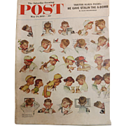 Saturday Evening Post Magazine - MAY 24 1952  - Norman Rockwell Cover