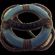 R.M.S. Rangitata Ships Souvenir Badge