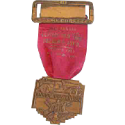 Firemen's Badge -1940 Central New York Association Convention