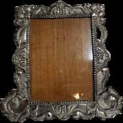 Gorgeous Large  Peruvian 925 Silver Grade Photo Frame -Circa 1930-1940