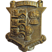 Old English Souvenir Door Knocker for CHESTER England