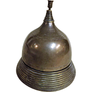 Victorian Shop Counter Bell in Bronze & Brass
