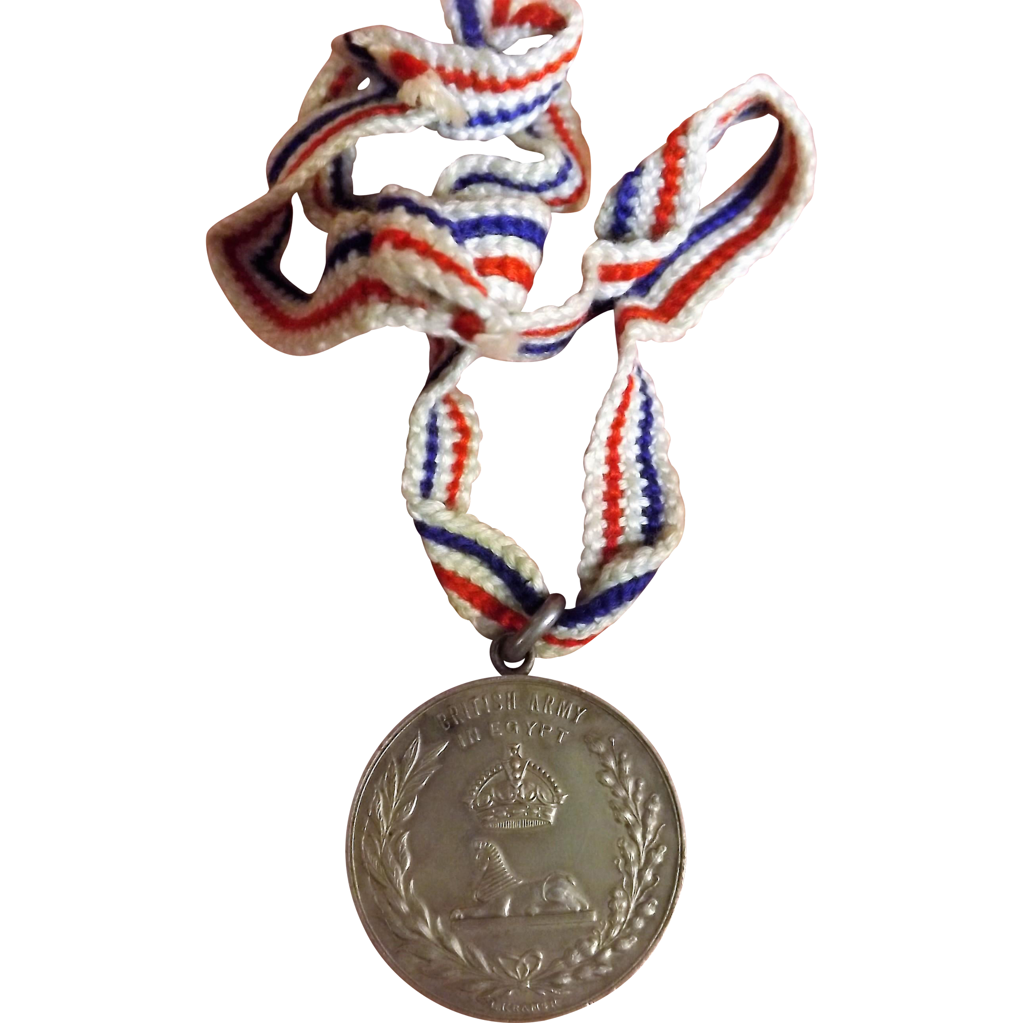 British Army in Egypt Sports Medal  1927-1928
